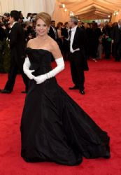 Katie Couric: Red Carpet Arrivals at the Met Gala