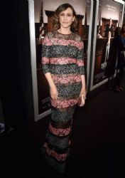 Vera Farmiga wears Elie Saab - 'The Judge' LA Premiere