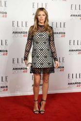 Abbey Clancy wears Marc Jacobs - Elle Style Awards 2015