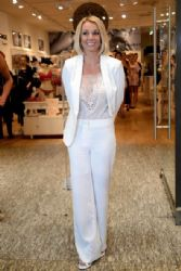 Britney Spears wears Michael Costello - 'The Intimate Britney Spears' Germany Launch