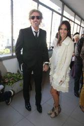 María Susini and Facundo Arana: Nicolás Scarpino's civil wedding