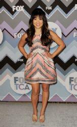 Jenna Ushkowitz: arrives at the FOX All-Star Party at the Langham Huntington Hotel