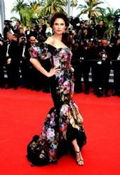 Bianca Balti conquers Cannes in Dolce & Gabbana  2012 Cannes Film Festival