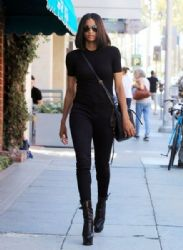 Ciara is spotted out for a stroll in Beverly Hills