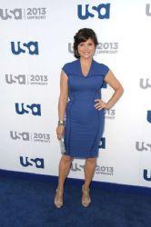 Tiffani Thiessen attends USA Network 2013 Upfront Event