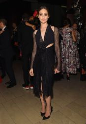 Emmy Rossum wears Dion Lee - The 2015 CFDA Awards