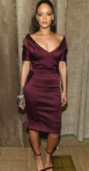 Rihanna attends the Zac Posen fashion show at Vanderbilt Hall