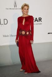 Sharon Stone wears Roberto Cavalli - Amfar's 21st Cinema Against Aids Gala