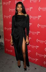 Jessica White: attends (BELVEDERE)RED Night Lights for World AIDS Day at Bagatelle in New York City
