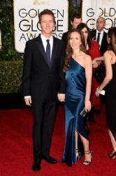 Edward Norton and Shauna Robertson: 72nd Annual Golden Globe Awards 2015- Arrivals