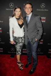 Ximena Duque and Carlos Ponce: Mercedes-Benz USA Academy Awards Viewing Party