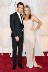 Justin Theroux and Jennifer Aniston: 87th Annual Academy Awards 2015