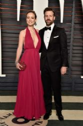 Olivia Wilde and Jason Sudeikis: 2016 Vanity Fair Oscar Party Hosted By Graydon Carter - Arrivals
