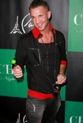 Mike 'The Situation' Sorrentino hosts a party at Gallery Nightclub in Planet Hollywood Resort & Casino to mark the launch of the MTV stars Sugar Factory Couture Pop which celebrates his Italian heritage