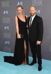 Rosie Huntington-Whiteley and Jason Statham: The 21st Annual Critics' Choice Awards