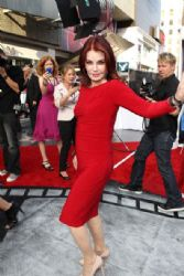 Priscilla Presley joins a star-studded cast on the red carpet at the premiere of Iris, the new Cirque Du Soleil production, at the Kodak Theatre in L.A