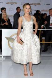 Jennifer Lawrence wears Christian Dior -