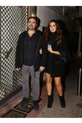 Katerina Papoutsaki and Panagiotis Pilafas: night out