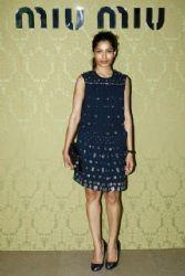 Freida Pinto wears Miu Miu - Miu Miu Resort Collection 2015