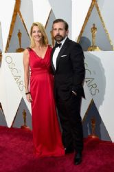Nancy Carell and Steve Carell: 88th Annual Academy Awards - Arrivals