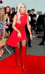 Rita Ora wears Versace - The X Factor Manchester Auditions
