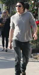 Garrett Hedlund & Kirsten Dunstleave lunch at Gjelina separately on Thursday (December 29) in Venice, Calif