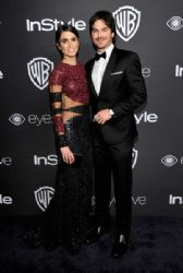 Ian Somerhalder & Nikki Reed : The 2017 InStyle and Warner Bros. 73rd Annual Golden Globe Awards Post-Party - Red Carpet