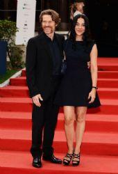 Willem Dafoe with his wife Giada: 69th Venice Film Festival