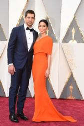 Olivia Munn and Aaron Rodgers: 88th Annual Academy Awards - Arrivals