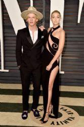 Cody Simpson and Gigi Hadid: 2015 Vanity Fair Oscar Party