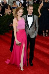 Emma Stone and Andrew Garfield: Red Carpet Arrivals at the Met Gala 2014