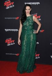 Eva Green wears Elie Saab - 'Sin City:  A Dame To Kill For' LA Premiere