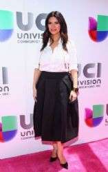 Laura Pausini: Univision's 2015 Upfronts