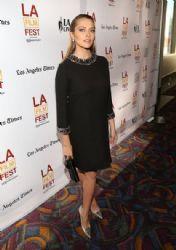 Teresa Palmer wears Gucci - 'Cut Bank' 2014 LA Film Festival Premiere