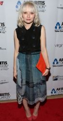 Emily Browning: at the 2012 Arthritis Foundation 'Commitment to a Cure' Awards Gala held at The Beverly Hilton Hotel