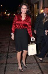 Sarah Palin Celebrates Her Birthday In Washington DC