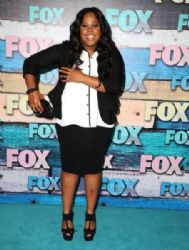 Amber Riley: FOX All-Star Party in West Hollywood