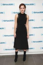 Emma Watson In 3.1 Phillip Lim At SiriusXM 'Town Hall'