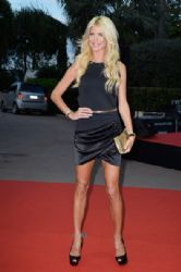 Victoria Silvstedt: Arrivals at the World Music Awards