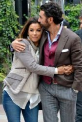 Eva Longoria and Pepe Baston: out and about