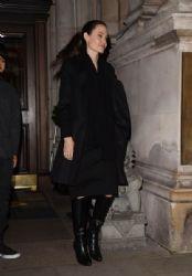 Angelina Jolie : in London  (March 14, 2017)