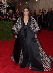 Lady Gaga wears Balenciaga - 2015 Met Gala