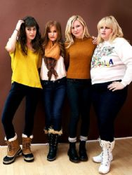 Kirsten Dunst, Isla Fisher, Lizzy Caplan, Rebel Wilson at a Portrait Session
