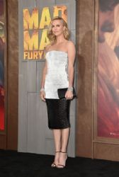 Charlize Theron attends the premiere of Warner Bros. Pictures'