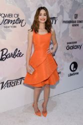 Emmy Rossum wears Oscar de la Renta - Variety's Power Of Woman New York