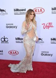 Jennifer Lopez wears Charbel Zoe - 2015 Billboard Music Awards