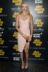 Lindsay Ellingson wears Nicholas - 'A Most Wanted Man' NY Premiere