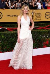 Laura Carmichael: 21st Annual Screen Actors Guild Awards - Arrivals