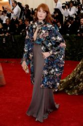 Florence Welch: Red Carpet Arrivals at the Met Gala 2014