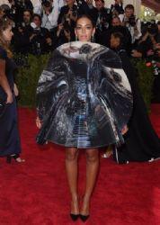 Solange Knowles wears Giles - 2015 Met Gala
